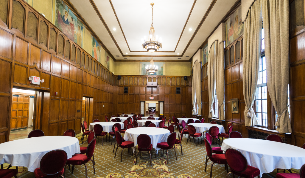 The Hussey room at the Michigan League