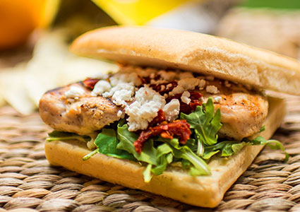 This delicious sandwich can be part of your next box lunch!