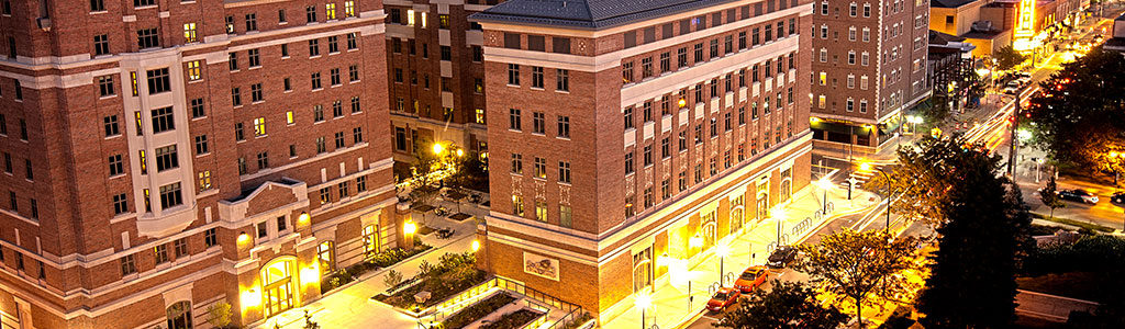 North Quad is one of the places you can house your conference guests or students.