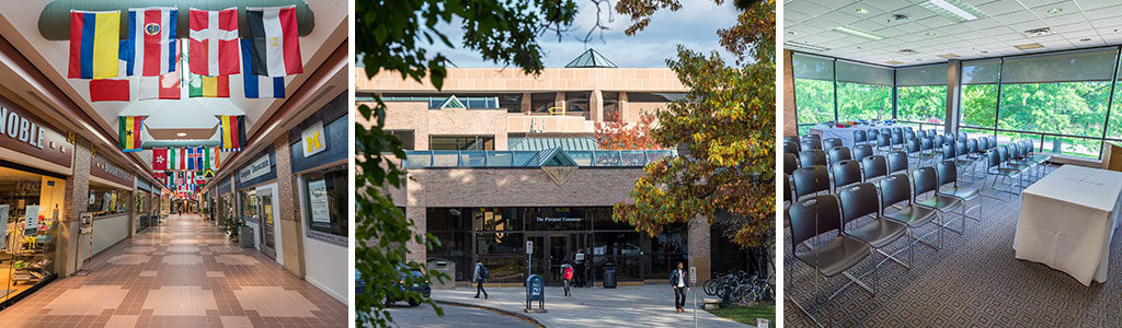 Pierpont Commons is a great venue on North Campus to host your next meeting.